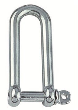 SST Straight D-shackle, long