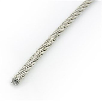 SST Wire rope 7 X 19