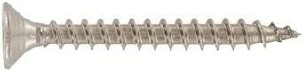 SST Double countersunk head timber screws, Full thread
