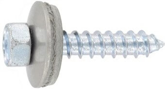 SST Cladding screws with point, sealing washer 16 mm