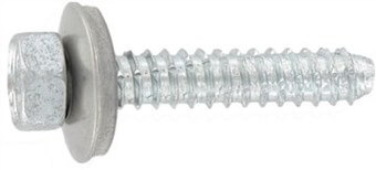 SST Cladding screws cone point, sealing washer 16 mm