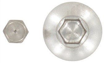 SST Hexagon socket button head screws with plug