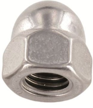 SST Hexagon domed cap Nuts, high