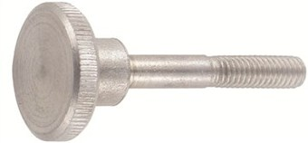 SST Knurled thumb screws, high type