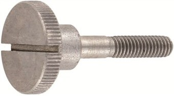 SST Slotted Knurled thumb screws, high type