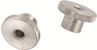 SST Knurled thumb nuts, high type