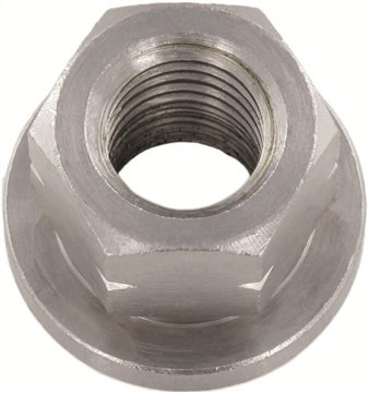 SST Hexagon collar Nuts, height 1,5 d