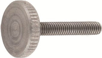 SST Knurled thumb screws, thin type