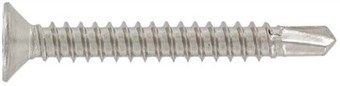 SST Self drilling screws with countersunk head