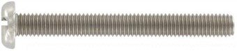 SST Slotted pan head screws