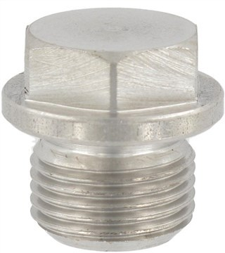 SST Hexagon head screw plugs