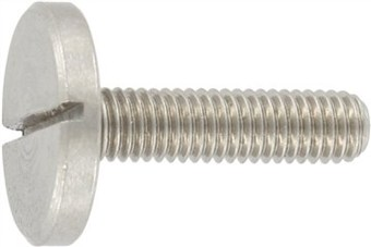 SST Pan head screws, large head