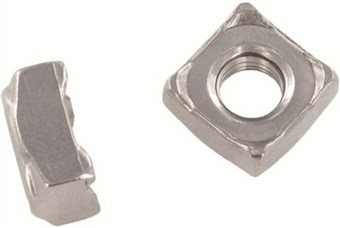 SST Square weld Nuts