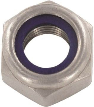 SST Self-locking Hexagon Nuts, low