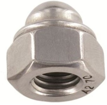 SST Self-locking hexagon domed cap Nuts