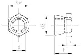 SST Shear nuts with breaking point