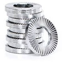 SST AFNOR serrated conical spring washers type S
